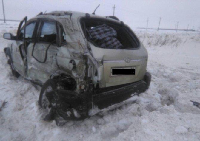Женщина погибла в ДТП в Тюменской области