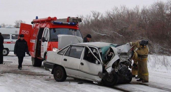 Водитель иномарки погиб в ДТП в Варненском районе Челябинской области (1)