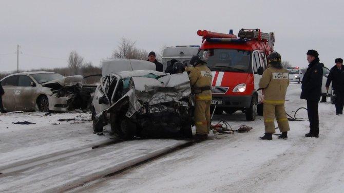 Водитель иномарки погиб в ДТП в Варненском районе Челябинской области (2)
