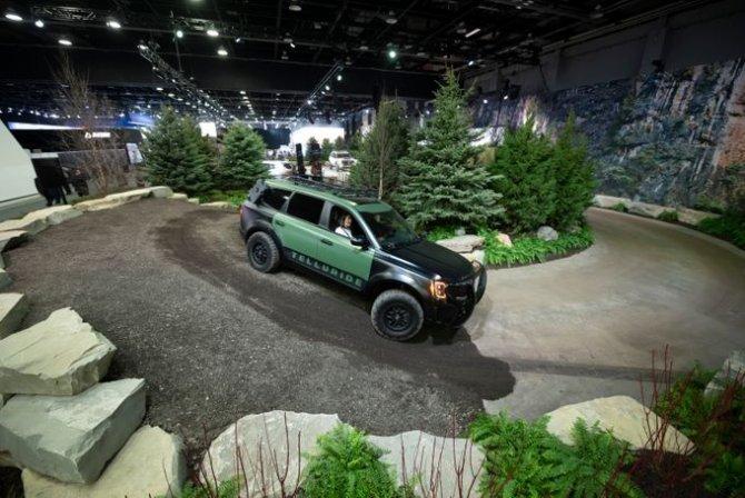 KIA Telluride на автосалоне в Детройте. Январь, 2019 год. Detroit News 2