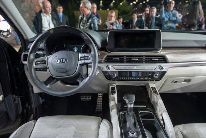 KIA Telluride на автосалоне в Детройте. Январь, 2019 год. Detroit News 13