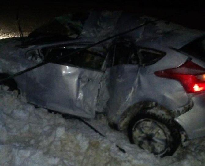 В ДТП в Тульской области погиб молодой водитель иномарки