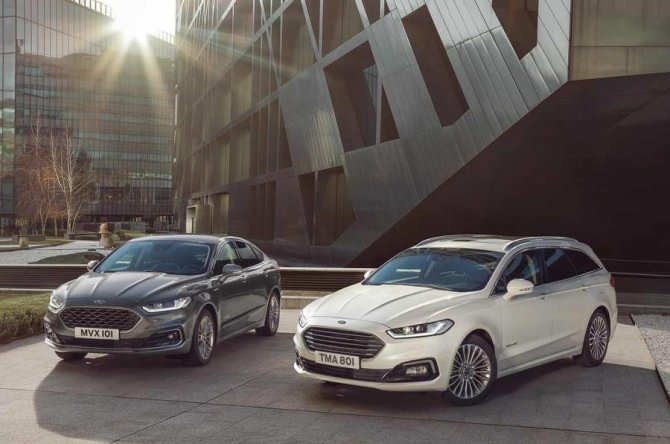 New 2019 Ford Mondeo 1