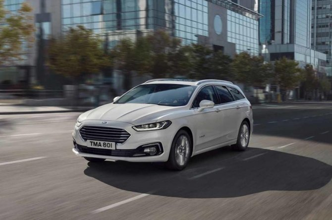 New 2019 Ford Mondeo 7