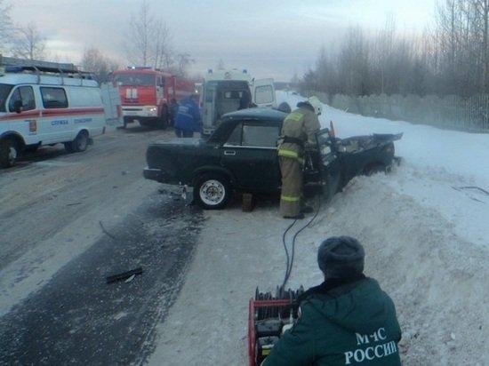 В Котласе в ДТП погиб водитель легковушки (1)