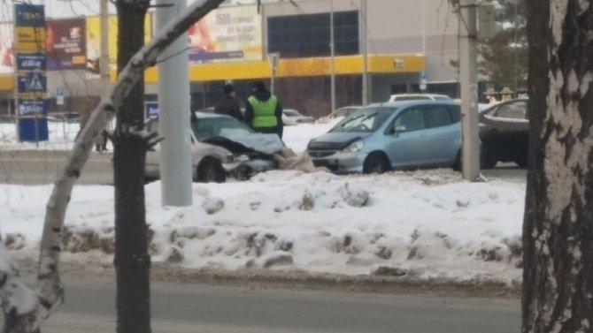 Два человека пострадали вДТП вБарнауле