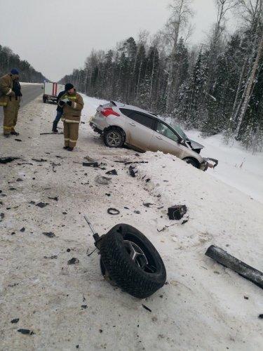 Водитель иномарки погиб в ДТП на трассе Тюмень – Ханты-Мансийск (1)