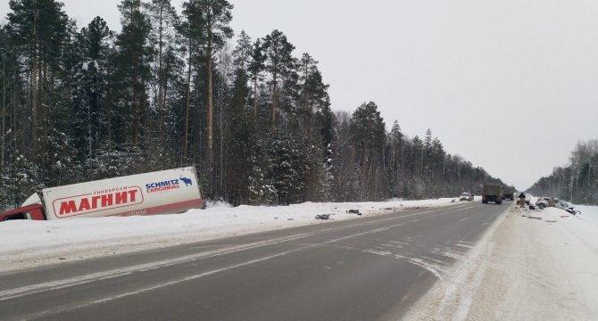 Водитель иномарки погиб в ДТП на трассе Тюмень – Ханты-Мансийск (2)