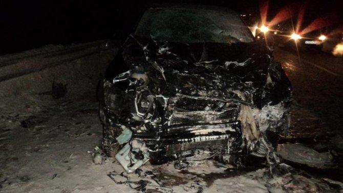 Женщина погибла в ДТП под Северодвинском (2)