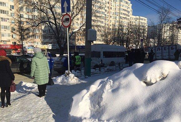 Женщина погибла в ДТП с маршруткой в Пензе (2)