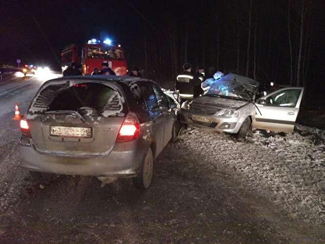Один человек погиб и пятеро пострадали в ДТП под Кировградом (3)