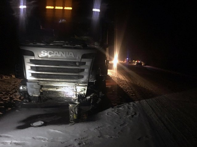 Три человека пострадали в ДТП с фурой в Рязанской области (1)