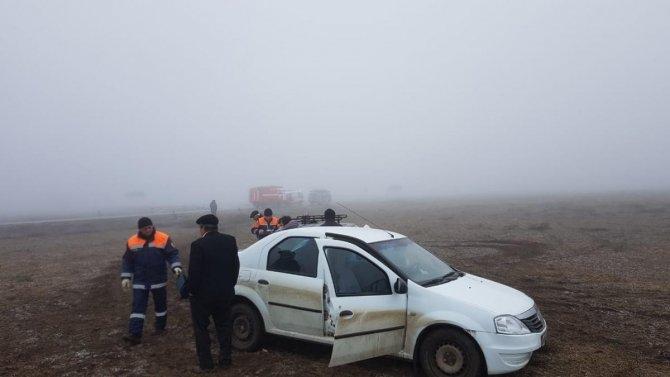 На Ставрополье иномарка вылетела с дороги – пострадали две женщины