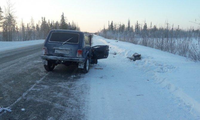 В ДТП на трассе «Сургут – Салехард» погиб человек (2)