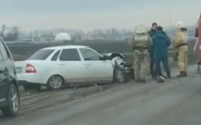 8-летняя девочка пострадала в ДТП в Краснодаре