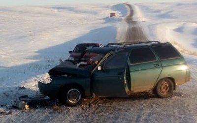В Башкирии в ДТП с двумя ВАЗами погиб водитель