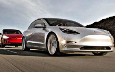 Tesla Model 3: продажи значительно выросли