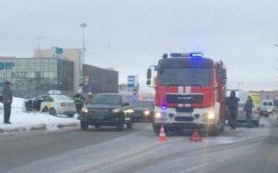 В массовом ДТП в Петербурге пострадали дети