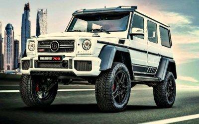 Mercedes отBrabus: 700 «лошадей» и2 фута под килем