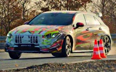 Mercedes-AMG A45 Sполучит новые моторы