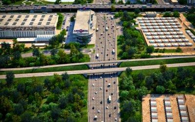 ВМоскве планируется строить по100км новых дорог ежегодно