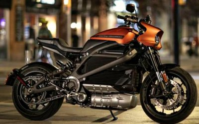 Harley-Davidson представил свой электроцикл