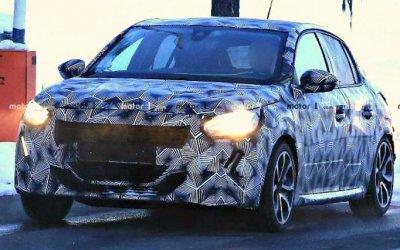 Надорогах тестируется новый Peugeot 208