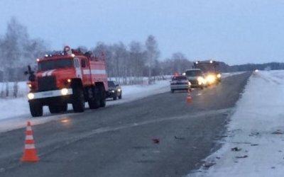 Водитель ВАЗа погиб в ДТП под Омском