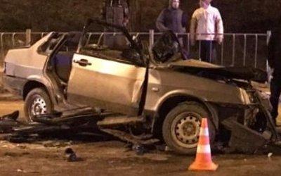 Женщина погибла в ДТП под Симферополем