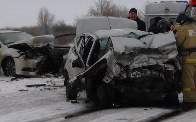 Водитель иномарки погиб в ДТП в Варненском районе Челябинской области