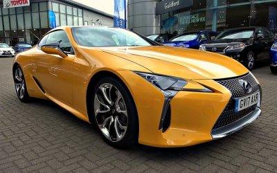 ВРоссию приедет лимитированный жёлтый LexusLC
