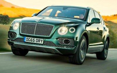 Подготовлена новая версия кроссовера Bentley Bentayga