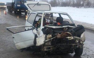 В ДТП с «Окой» под Самарой погиб человек