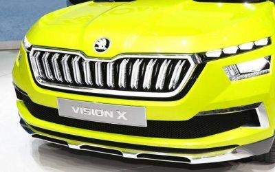 Серийную версию Skoda Vision Xпокажут вЖеневе