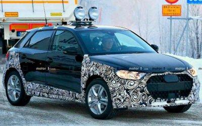 Надорогах замечен обновлённый Audi A1 Allroad