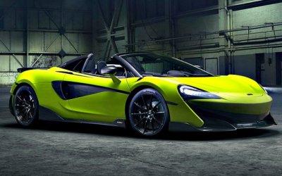 McLaren представил новый гиперкар 600LT Spider