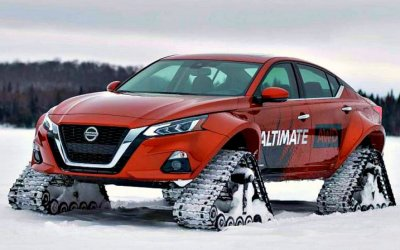 Nissan «обул» вгусеницы седан Altima