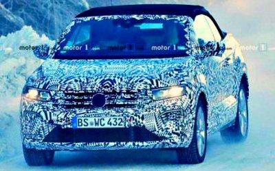 ВШвеции тестируется Volkswagen T-Roc Convertible
