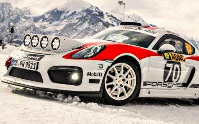 Porsche Cayman станет раллийным спорткаром