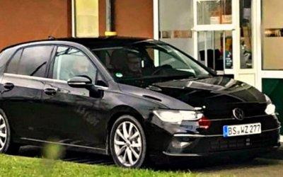 Надороге сфотографирован новый Volkswagen Golf