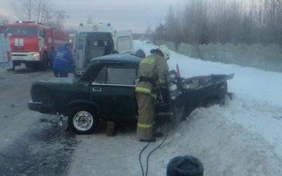 В Котласе в ДТП погиб водитель легковушки
