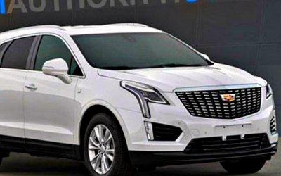 Обновлён кроссовер Cadillac XT5