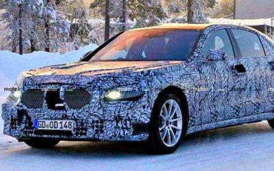 Начались тесты нового Mercedes-Benz S-Classe