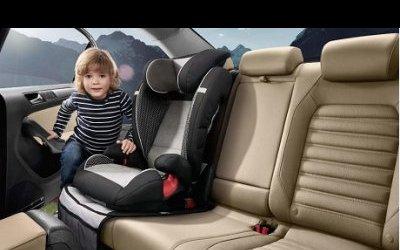 Защитите   вашего  ребенка  в  поездке  вместе  с  детскими  креслами Volkswagen