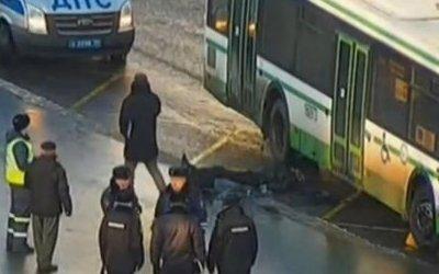 В Москве автобус задавил пешехода