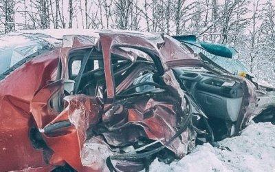 Ребенок погиб в ДТП в Ленобласти