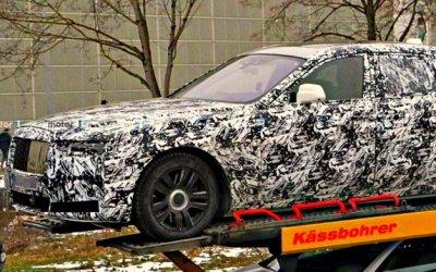 Папарацци сфотографировали новый Rolls-Royce Ghost