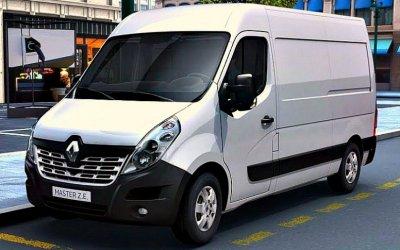 ВРоссию прибывают новые фургоны Renault Master