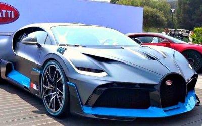 Bugatti Divo: еще невыпущен, ноуже раскуплен
