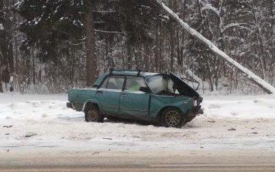 В ДТП в Вышневолоцком районе Тверской области погиб человек